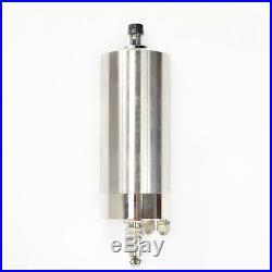110v Cnc Spindle Kit 1.5kw Water Cooled Spindle Motor+inverter+clamp+pump+tube