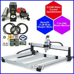 11M 4 Aixs CNC Router Machine Full Kit 2.2KW Water Cooled Spindle 110V
