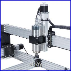 11M 4 Aixs CNC Router Machine Full Kit 2.2KW Water Cooled Spindle 110V NEMA23
