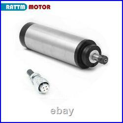 1500W ER16 220V Water Cooled Spindle Motor VFD 1.5KW CNC Kit Clamp Pump 6m Tubes