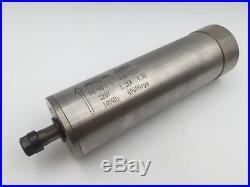 1.2KW ER11 Spindle Motor 60000rpm Water-Cooled D62mm&VFD Driver&Bracket&Pump Kit