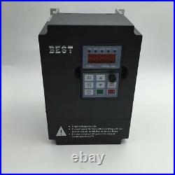 1.5KW ER11 48000rpm Spindle Motor High Speed Water Cooled & 2.2KW VFD& Pump Kit
