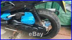 2002 Peugeot Speedfight 2 50cc water cooled Evo body kit