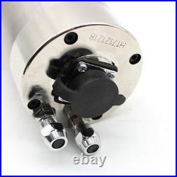 220V Spindle Motor 2.2KW Kit Water-cooled ER20 +2.2KW VFD Inverter+Bracket+Pump