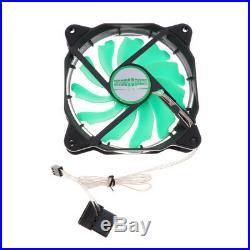 240mm PC Liquid Water Cooling Kit Radiator CPU Block+Fan Pump Reservoir Tube
