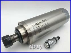 2.2KW ER20 Spindle Motor 3Bearing Water-cooled 24000rpm VFD Inverter Driver CNC