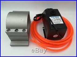 2.2KW ER20 Water Cooled Spindle Motor CNC Kit 2.2KW VFD Inverter&Bracket&Pump