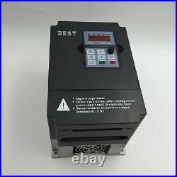 3KW Spindle Motor ER20 CNC Kit Water-Cooled + 4KW VFD Inverter+Bracket Milling