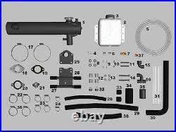 4.3L, 5.0L, 5.7L GM Closed Fresh Water Cooling Kit. Mercruiser 1985-2001 Engines
