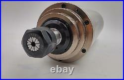 4.5KW Spindle Motor ER20 VFD Inverter 220V Kit 4Bearings 24000RPM Water-cooled