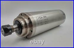 4.5KW Water Cooled CNC Spindle Motor Kit &5.5KW VFD Inverter&100mm Bracket&Pump
