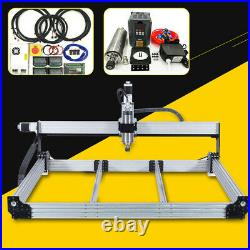 4 Aixs CNC Router Machine Full Kit Water Cooled Spindle 2.2KW 10001000mm