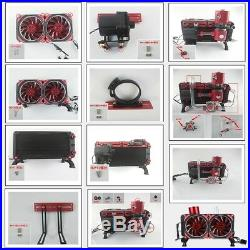 600L/H Liquid Cooling Complete Kit Water Pump Reservoir CPU GPU 275mm Heatsink