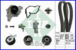 AUDI SKODA VW 2.5TDI 110kW 114kW 120kW 132kW / Water Pump & Timing Belt Set INA