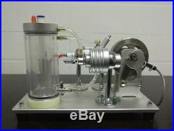 Alcohol Stirling Engine Model Kit Water-cooled Motor Physics Teaching Gift