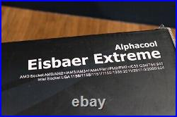 Alphacool Eisbaer Extreme 280 AIO CPU Watercooling Kit (please read description)