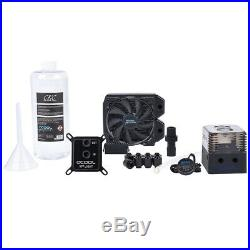 Alphacool Eissturm Gaming PC Water Cooling Kit, 30 1x120mm, Copper