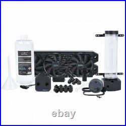 Alphacool Eissturm Hurricane Copper 360mm Water Cooling Kit Complete Kit