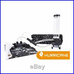 Alphacool Eissturm Hurricane Copper, Complete Custom Watercooling Kit inc. 360mm