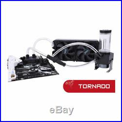 Alphacool Eissturm Tornado Copper, Complete Custom Watercooling Kit inc. 280mm U