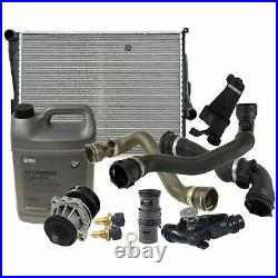 Automatic Transmission Radiator Water Pump Cooling Kit For BMW E46 3-Series