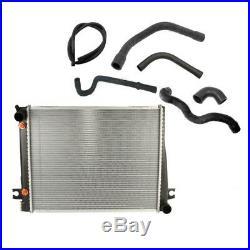 BMW E24 E28 Radiator Lower Return Upper Supply & Coolant Water Hoses Cooling Kit