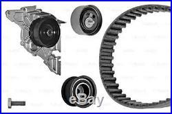 BOSCH Timing Cam Belt Kit + Water Pump Fits Audi Skoda VW 2.4-2.8L 1995-2008