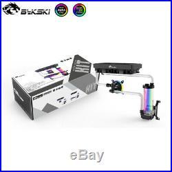 Bykski DIY Copper Intel CPU Block Split Set Hard Tube Water Cooling Kit