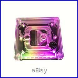 Bykski RBW LED 240 radiator Intel CPU Block Hard Tube Water Cooling Kit
