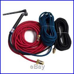 CK FL230 Water Cooled TIG Torch Kit Flex-Loc 230A 25' 3-Pc Super-Flex FL2325SF