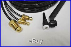 CK FL230 Water Cooled TIG Torch Kit Flex-Loc 230A 25' 3-Pc TriFlex FL2325