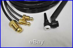 CK FL230 Water Cooled TIG Torch Kit, Flex-Loc, 230A, 25', 3-Pc, TriFlex, FL2325