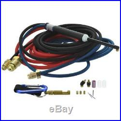 CK MR140 Water Cooled Micro TIG Torch Kit 140A 12.5' 3-Pc Super-Flex MR1412SF