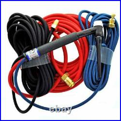 CK Water Cooled Trim-Line TIG Torch Kit Flex 350A Super-Flex TL18-25SF FX