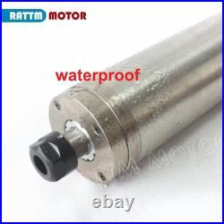CNC 2.2KW ER20 Water Cooling Spindle Motor VFD 220V Kit For Engraving Metal Mill