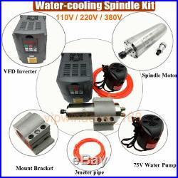 CNC Spindle Motor VFD Inverter Driver Kit 300With800With1.5KWith2.2KWith3KWith4.5KWith6KW