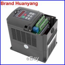 CNC kit 2.2KW ER20 Water Cooled Spindle motor 2.2KW HY VFD inveter Drive