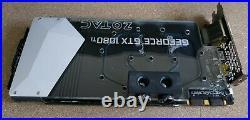 COMPLETE KIT ZOTAC GTX 1080Ti ARCTICSTORM 11GB GDDR5X Water Cooled Graphics Card