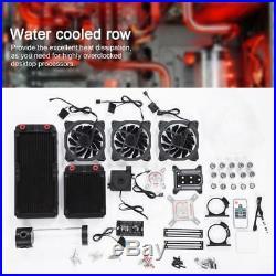 CPU Wasserkühlung System Set Computer PC Flüssigkeitskühler Kit