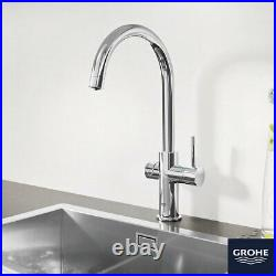 C-Spout Filter Tap, Cool & Sparkling Water Kit GROHE Blue Professional in Chrome