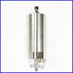 Cnc 1.5kw 110v Water Cooled Spindle Motor Kit+inverter+clamp+pump+pipe+collet