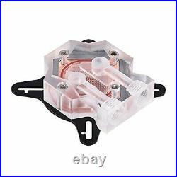 Compputer Water Cooling Kit with 240mm Cooler CPU/GPU Block Pump Reservoir LED