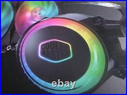CoolerMaster MasterLiquid ML360R RGB Water Cooling Kit USED