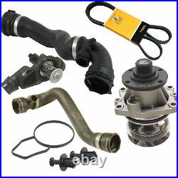 Cooling Kit Water Pump, Thermostat, Hoses, Belt For BMW E46