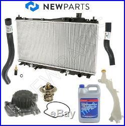 Cooling Repair Kit Radiator Water Pump Hoses for Honda Civic 1.7L SOHC 01-05