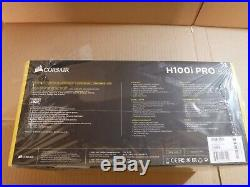 Corsair Hydro Series H100i PRO RGB Liquid Cooling Kit, (CW-9060033-WW)