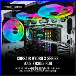 Corsair Hydro X Series XH305i Hardline Water Cooling Kit with/incl XC7 CP. New