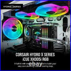 Corsair Hydro X Series, iCUE XH305i RGB Custom Cooling Kit XC7 RGB (115X/AM4)