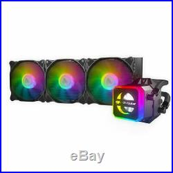 Cougar Helor 360 RGB CPU Aluminum Cooling Kit with 3 Fans 360mm