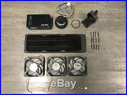 D5 Pump / 360 Radiator with 3 x 120mm Fans / XSPC Reservoir PC Water Cooling Kit